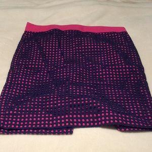 Talbots Pink & Blue Skirt
